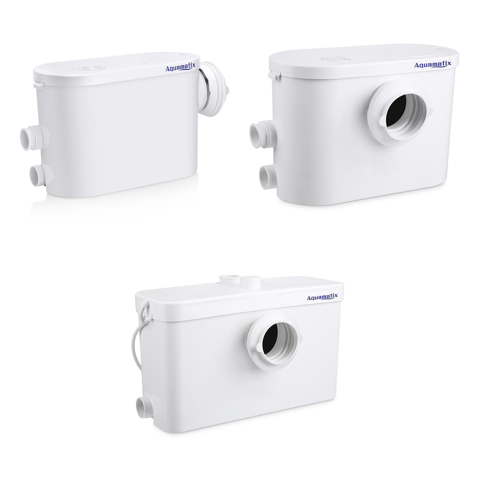Hebeanlage Aquamatix Excellencia  Abwasserpumpe Haushaltspumpe Dusche WC Sanitär